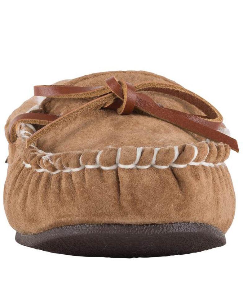Lamo Women's Britain Moc II Wide Slippers - Moc Toe, Chestnut, hi-res