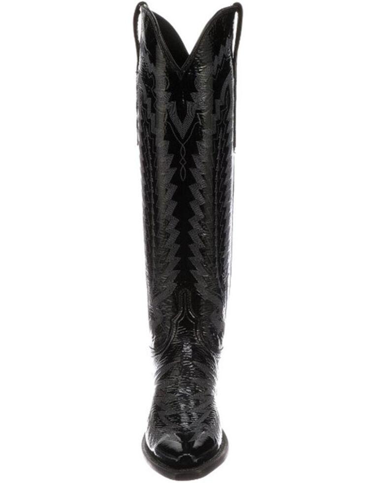 Lucchese Women's Priscilla Western Boots - Snip Toe, Black, hi-res