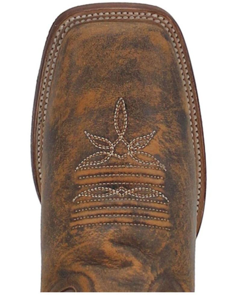 Dan Post Women's Sabina Western Boots - Wide Square Toe, Tan, hi-res