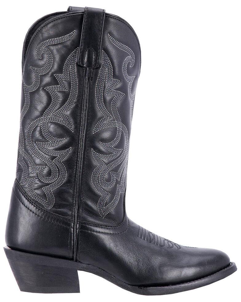 Laredo Maddie Cowgirl Boots - Medium Toe, Black, hi-res