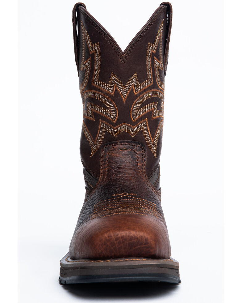 Cody James Men's Disruptor Western Boots - Composite Toe, Brown, hi-res