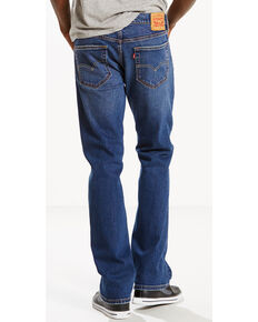 Levi's Men's 527 Slim Fit Bootcut Jeans, Indigo, hi-res