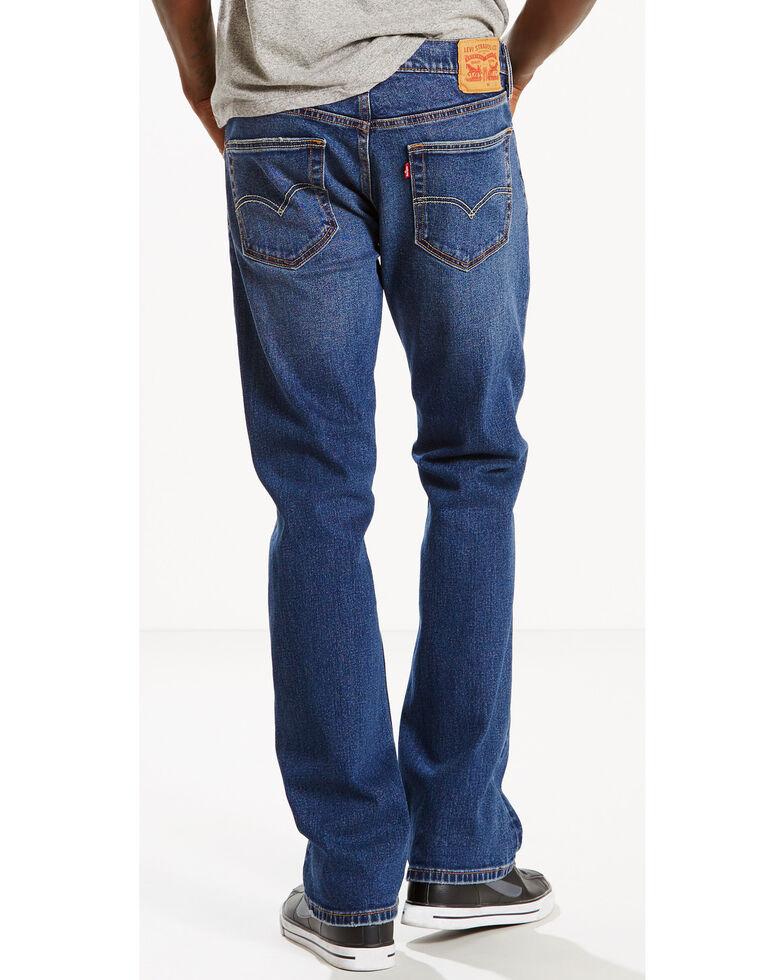 Levi's Men's 527 Indigo Slim Bootcut Jeans, Indigo, hi-res