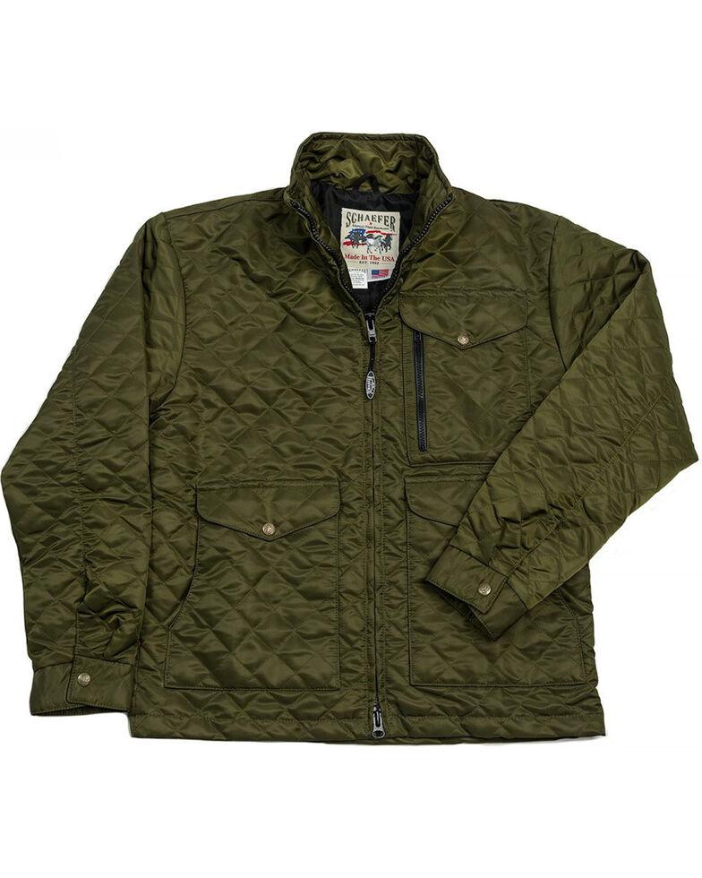 Schaefer Outfitter Men's Olive Canyon Cruiser Jacket , Olive, hi-res