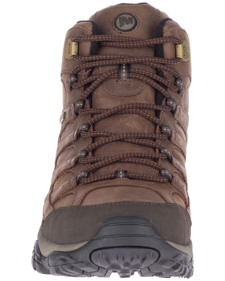 Merrell Men's MOAB 2 Prime Waterproof Hiking Boots - Soft Toe, Brown, hi-res