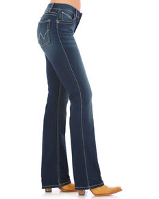 Wrangler Women's Q-Baby Dark Wash Ultimate Riding Jeans  , Indigo, hi-res