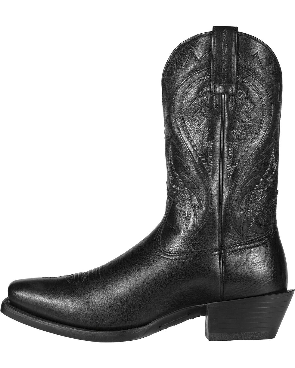 Ariat Legend Phoenix Cowboy Boots - Square Toe, Black, hi-res