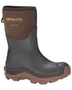 Dryshod Women's Haymaker Farm Boots, Brown, hi-res