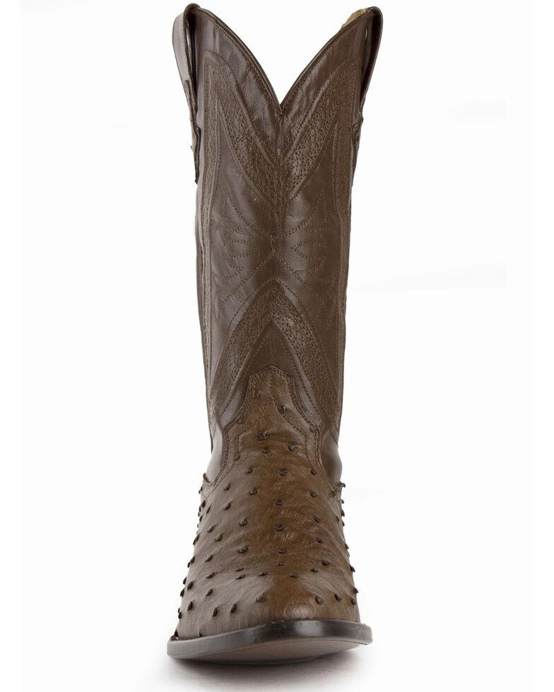 Ferrini Men's Brown Colt Western Boots - Round Toe, Dark Brown, hi-res