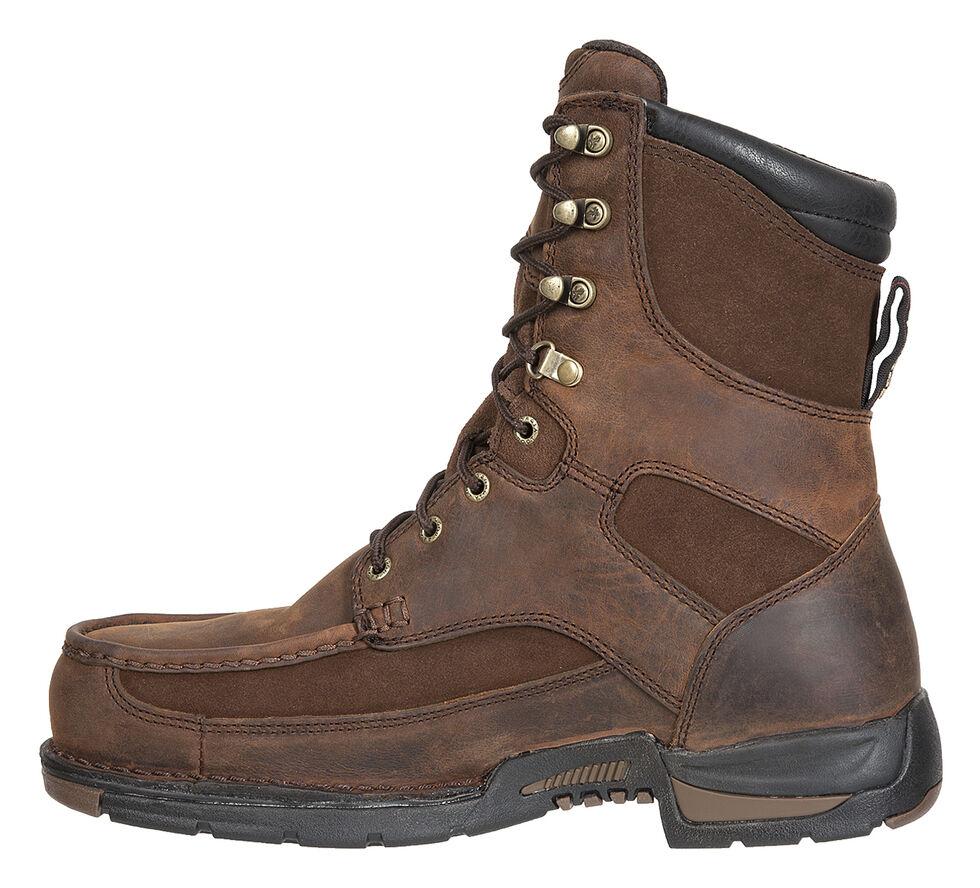 Georgia Athens Waterproof Work Boots - Moc Toe, Brown, hi-res