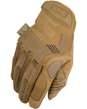 Machanix Wear M-Pact Coyote Gloves , Tan, hi-res