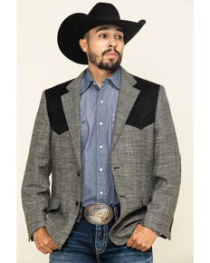 Cody James Men's Grey Western Sportcoat , Grey, hi-res