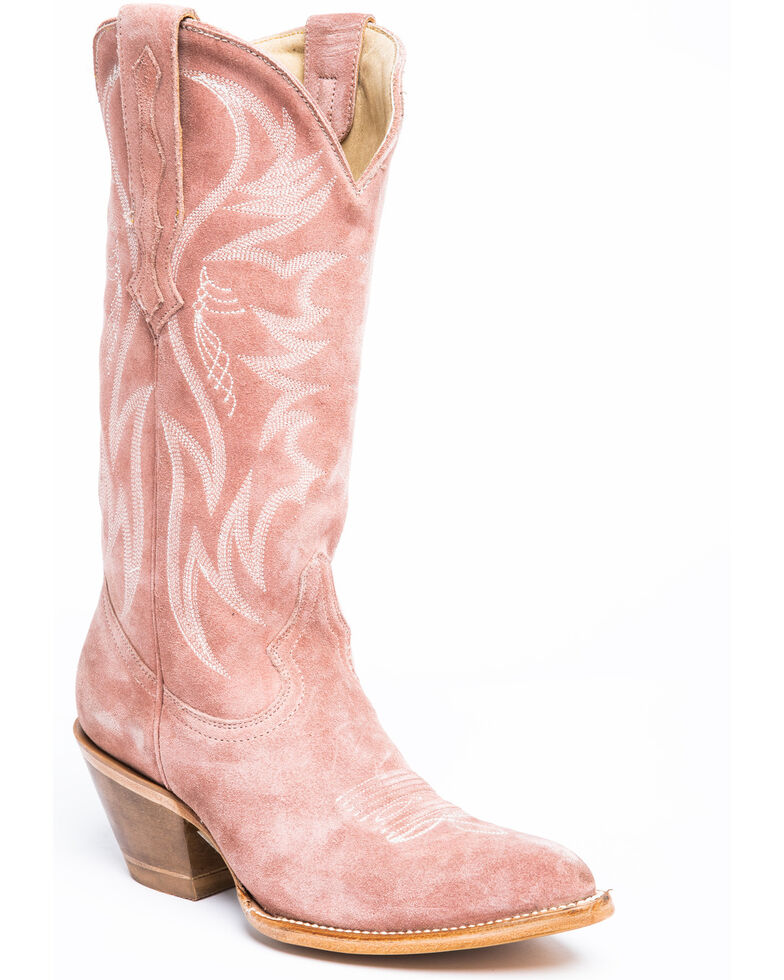 Idyllwind Women's Charmed Life Pink Western Boots - Round Toe, Blush, hi-res