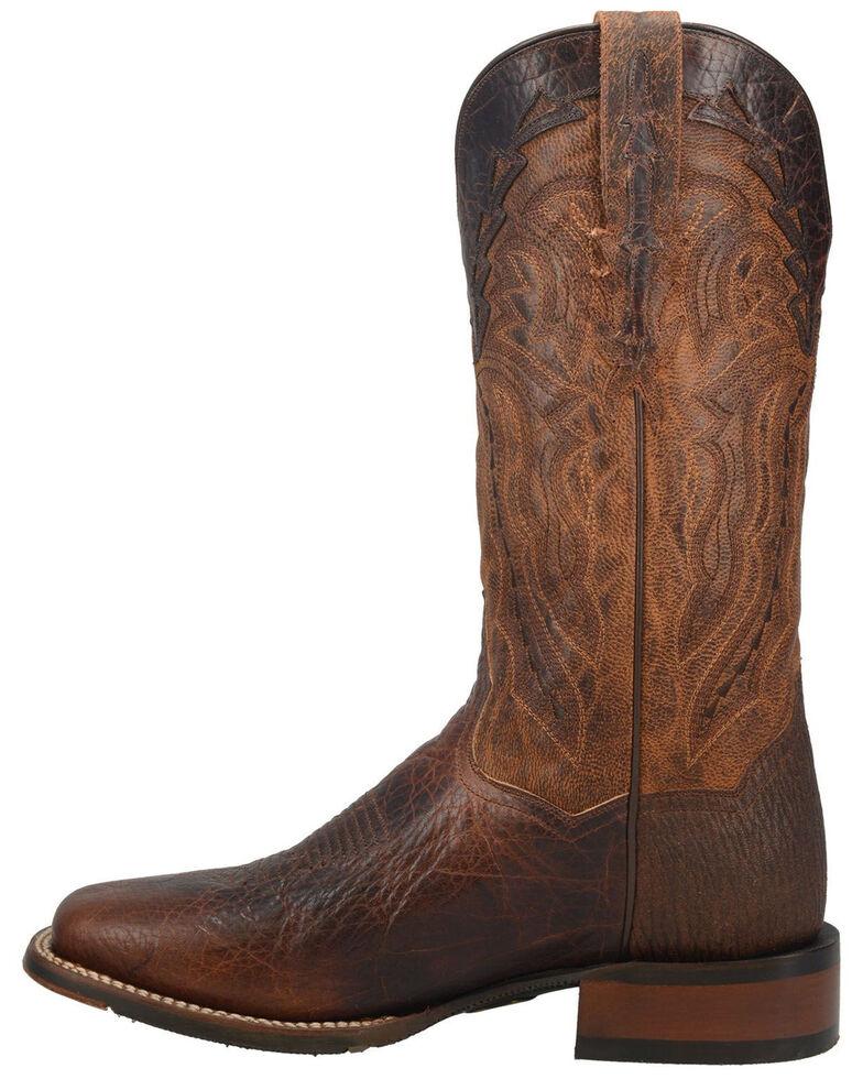 Dan Post Men's Bohannon Western Boots - Wide Square Toe, Brown, hi-res