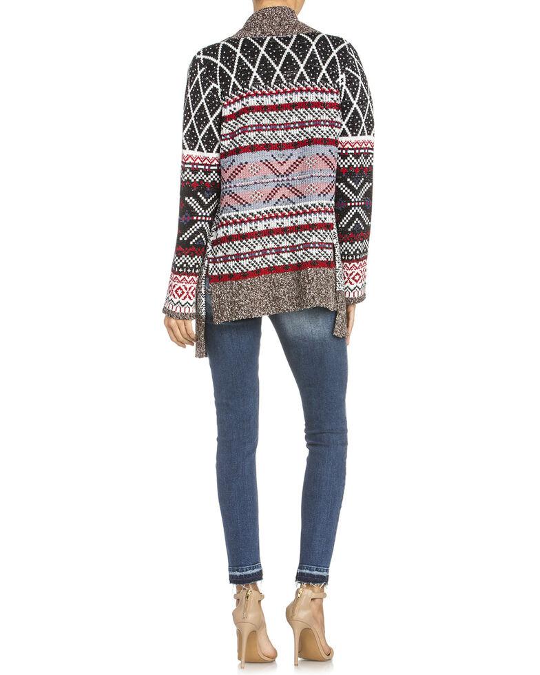 Miss Me Women's Aztec Cardigan Sweater, Multi, hi-res