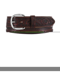 Tony Lama Men's Pueblo Lace Belt, Tan, hi-res