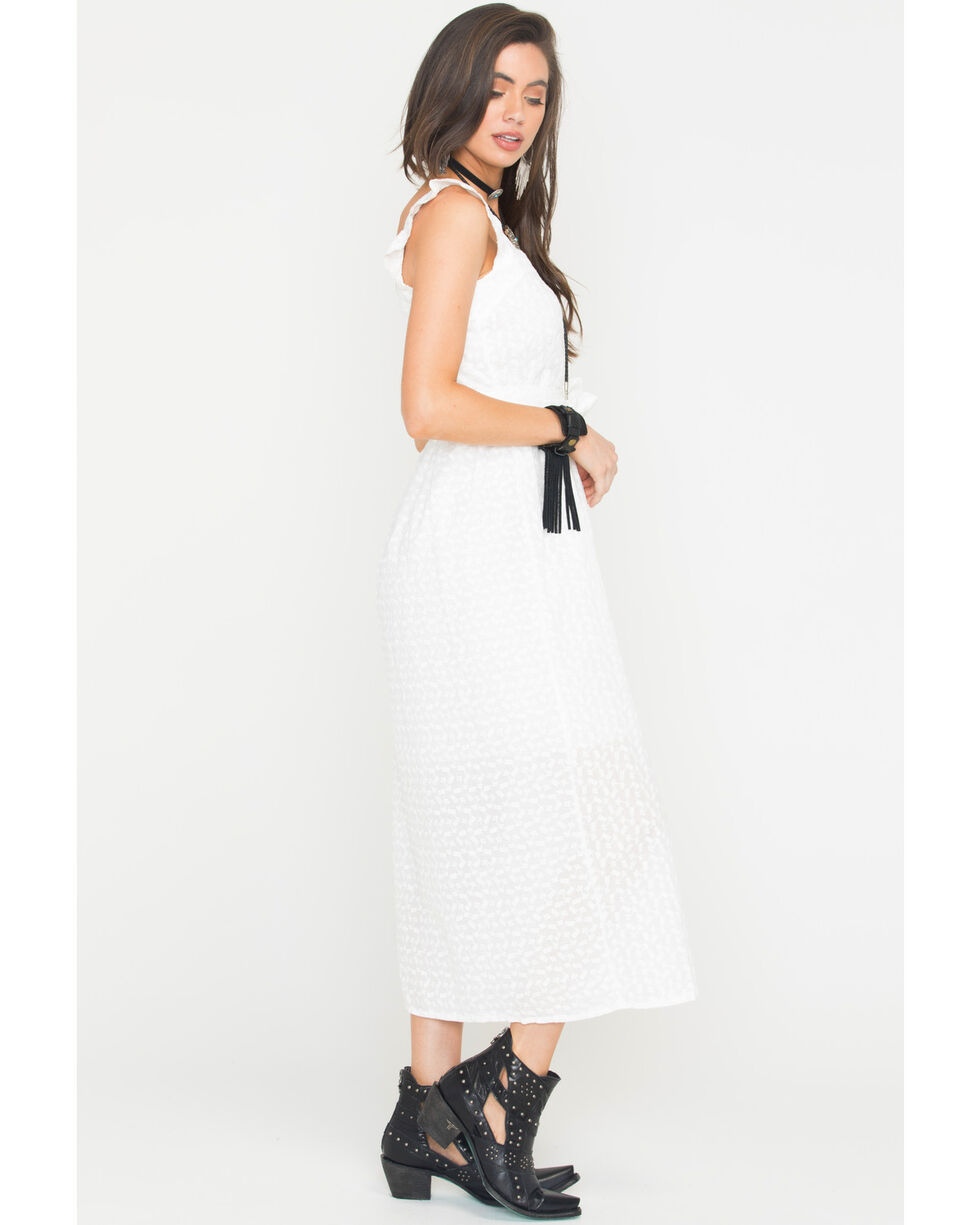 Sage the Label Women's White Coastline Maxi Dress , White, hi-res
