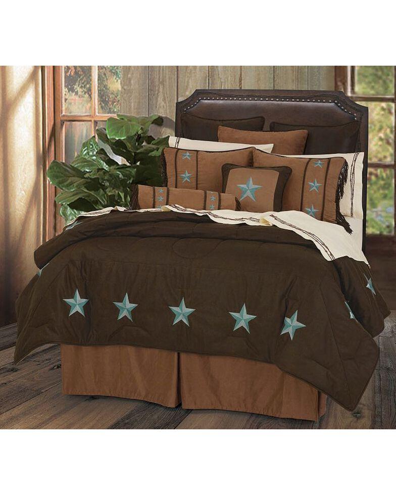 HiEnd Accents Turquoise Laredo 6-Piece King Comforter Set, Multi, hi-res