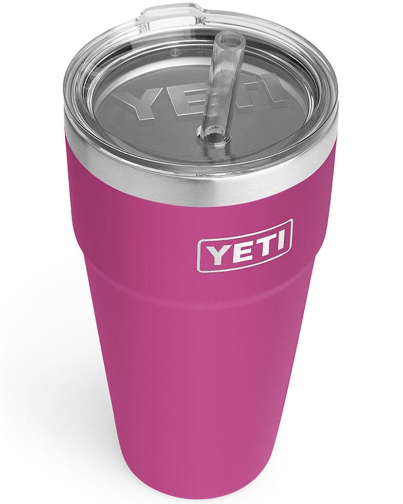 Yeti Rambler 26oz Pink Straw Cup, Pink, hi-res