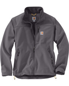 Carhartt Men's Charcoal Denwood Work Jacket , Charcoal, hi-res