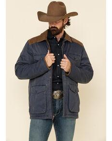 Moonshine Spirit Men's Lonesome Bull Rancher Jacket , Navy, hi-res