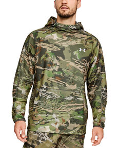 Under Armour Men's Zephyr Fleece Camo Popover, Camouflage, hi-res