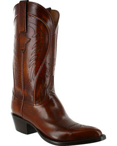 Lucchese Men's Handmade Classic Western Boots, Tan, hi-res