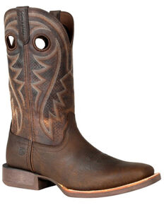 Durango Men's Brown Rebel Pro Ventilated Western Boots - Square Toe, Brown, hi-res