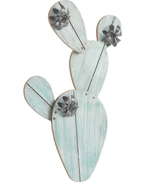 BB Ranch Cactus Picture Holder, Turquoise, hi-res