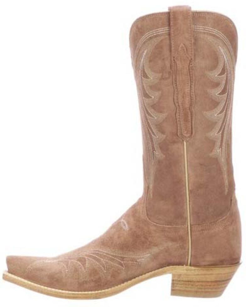 Lucchese Women's Margot Western Boots - Snip Toe, Pink, hi-res