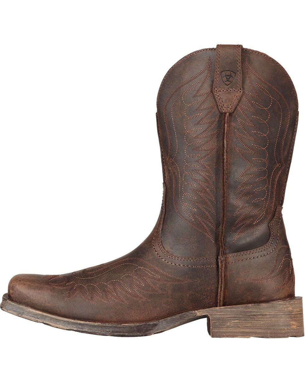 Ariat Rambler Phoenix Cowboy Boots - Square Toe, Distressed, hi-res