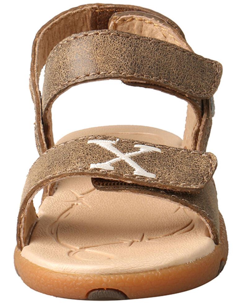Twisted X Kids' Infant Sandal, Brown, hi-res