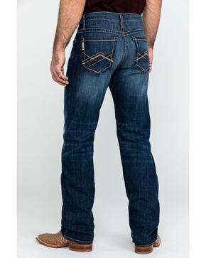 Cinch Men's Grant Dark Stone Mid Rise Boot Jeans , Indigo, hi-res