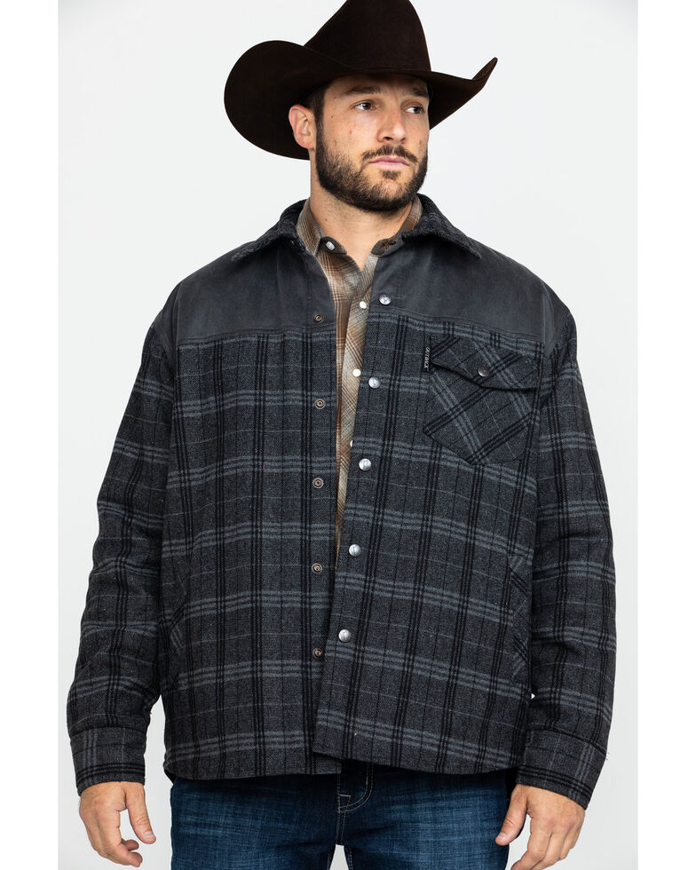 Outback Trading Co. Men's Clyde Jacket , Black, hi-res