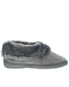 Lamo Footwear Women's Charcoal Carmen II Slippers, Charcoal, hi-res