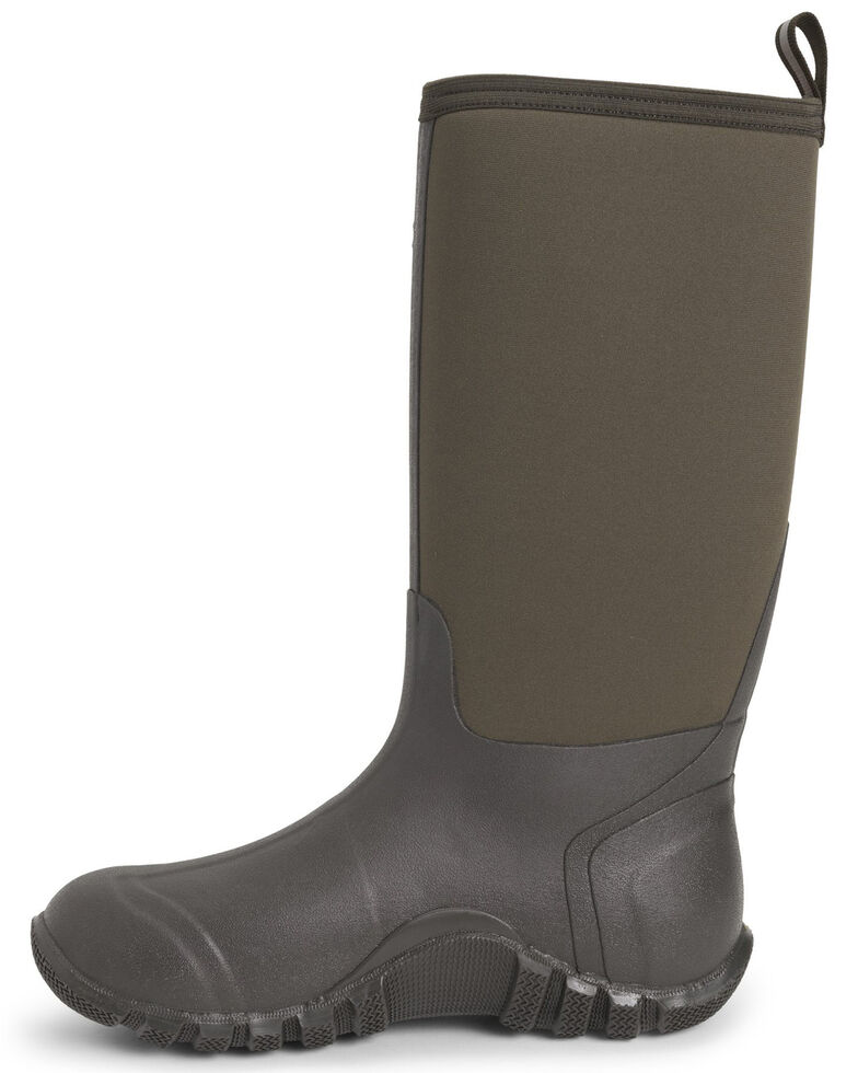 Muck Boots Men's Edgewater Classic Rubber Boots - Round Toe, Brown, hi-res
