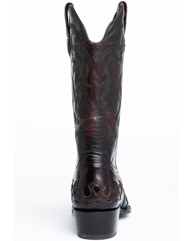 Moonshine Spirit Men's Vibrato Western Boots - Snip Toe, Black Cherry, hi-res