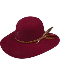 12525795b28 Charlie 1 Horse Women s Burgundy Free Spirit Wool Hat