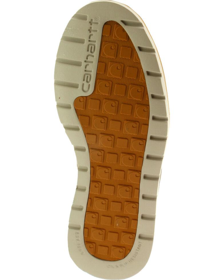 "Carhartt Men's 6"" Brown Waterproof Wedge Boots - Moc Toe, Brown, hi-res"