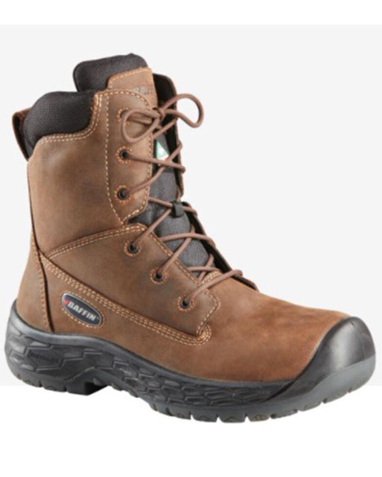 Baffin Men's Barton Waterproof Work Boots - Composite Toe, Brown, hi-res