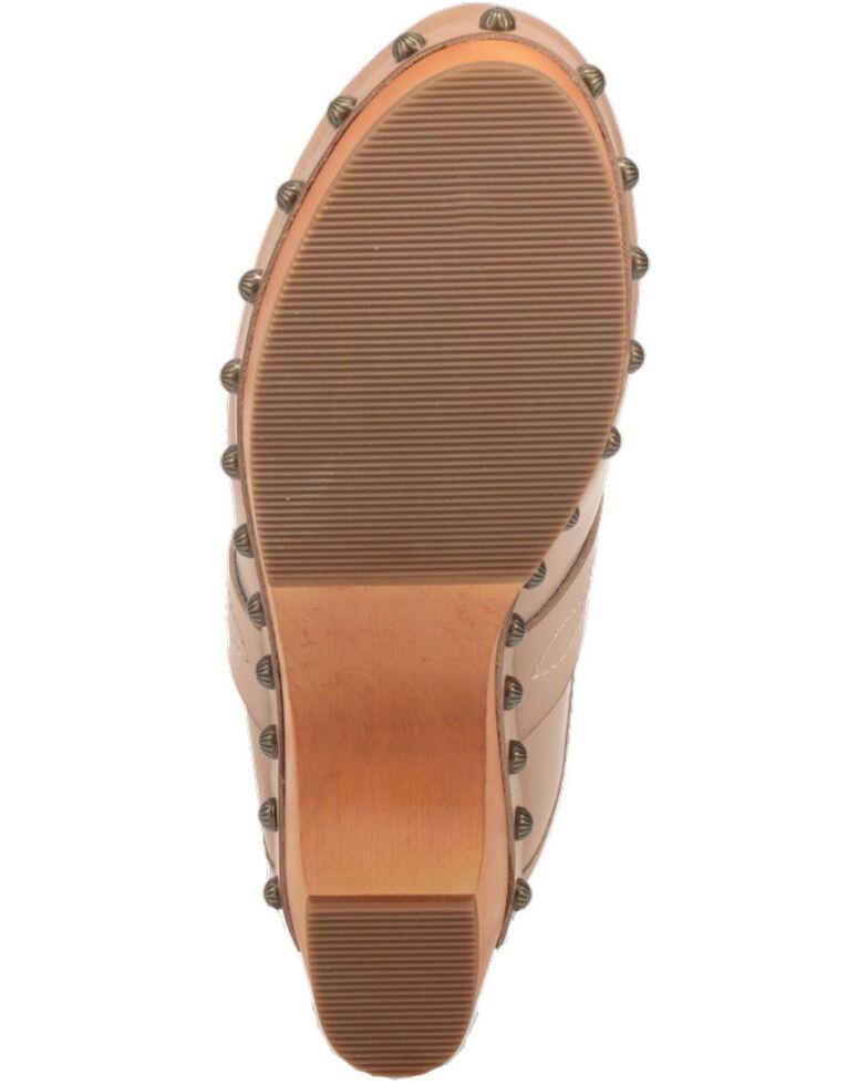Dingo Women's Latigo Clog Shoes, Sand, hi-res