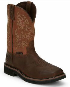 Justin Men's Switch Western Work Boots - Composite Toe, Multi, hi-res