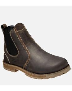 Keen Men's Seattle Romeo Work Boots - Soft Toe, Grey, hi-res
