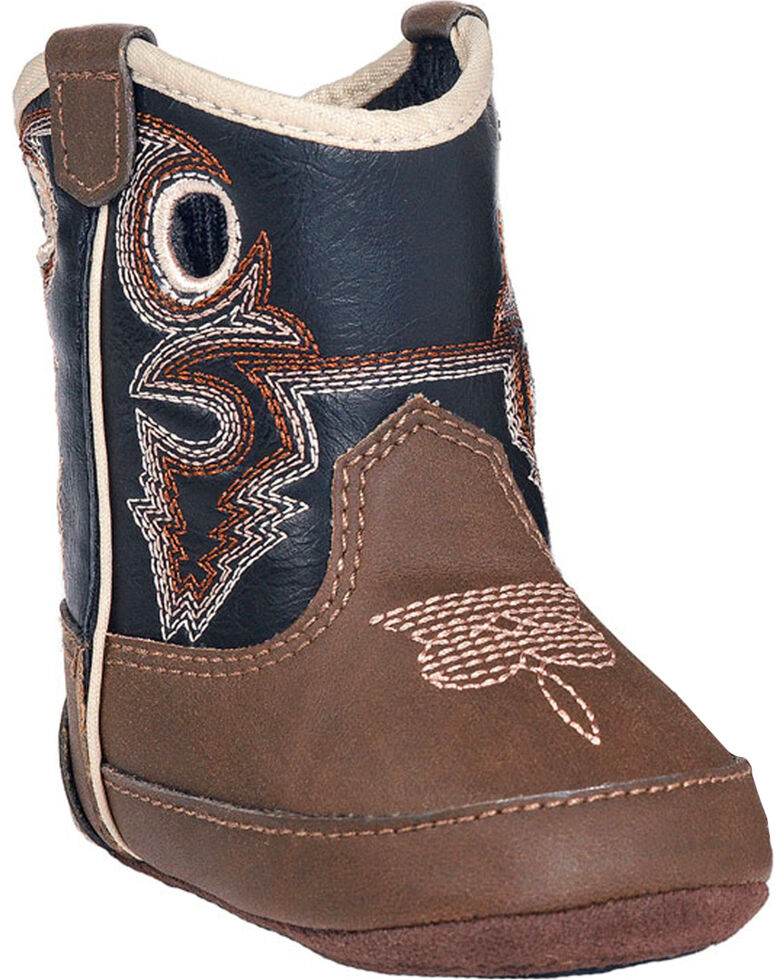 5abca4af574 Double Barrel Infant Boys  Trace Baby Bucker Boots - Round Toe ...