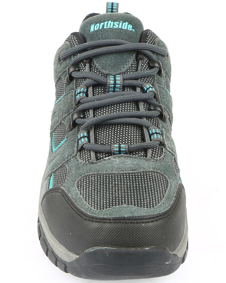 Northside Women's Monroe Hiking Shoes - Soft Toe, Dark Grey, hi-res