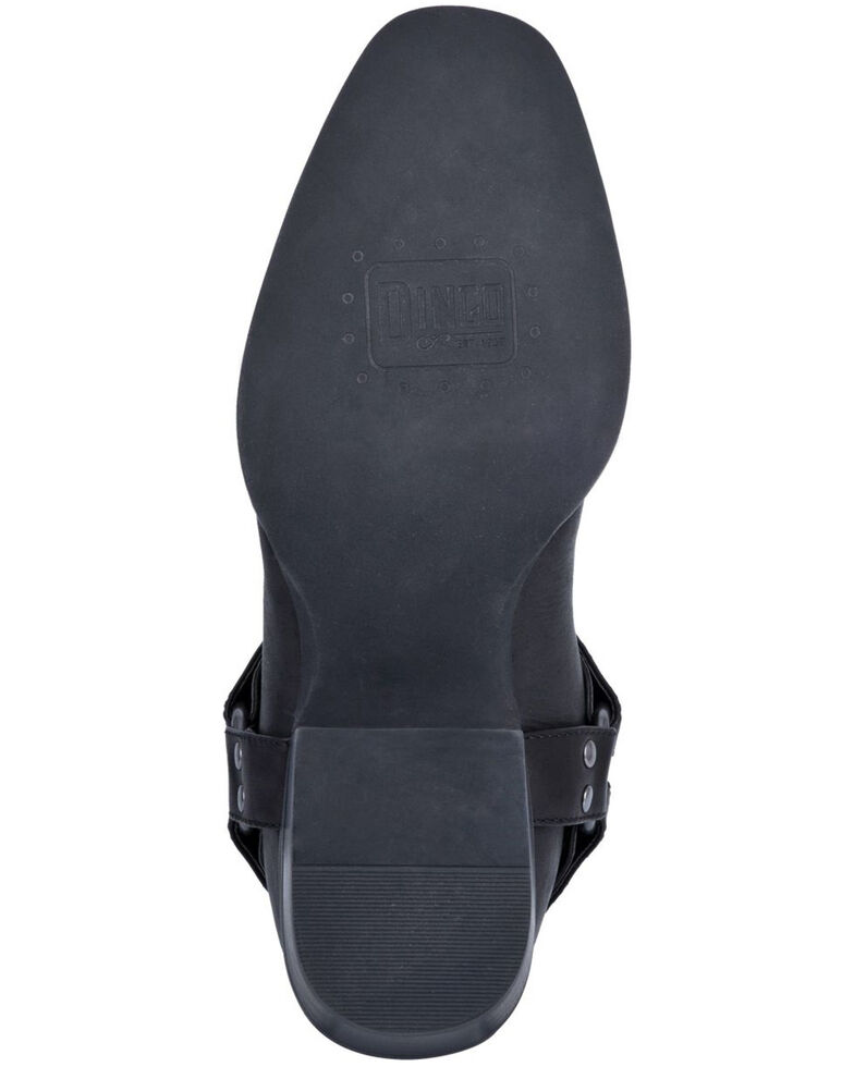 Dingo Men's Dragon Western Boots - Round Toe, Black, hi-res