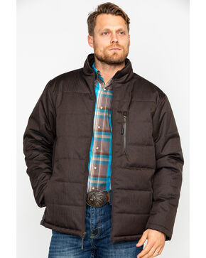 Cody James Men's Summit Heavy Coat , Brown, hi-res