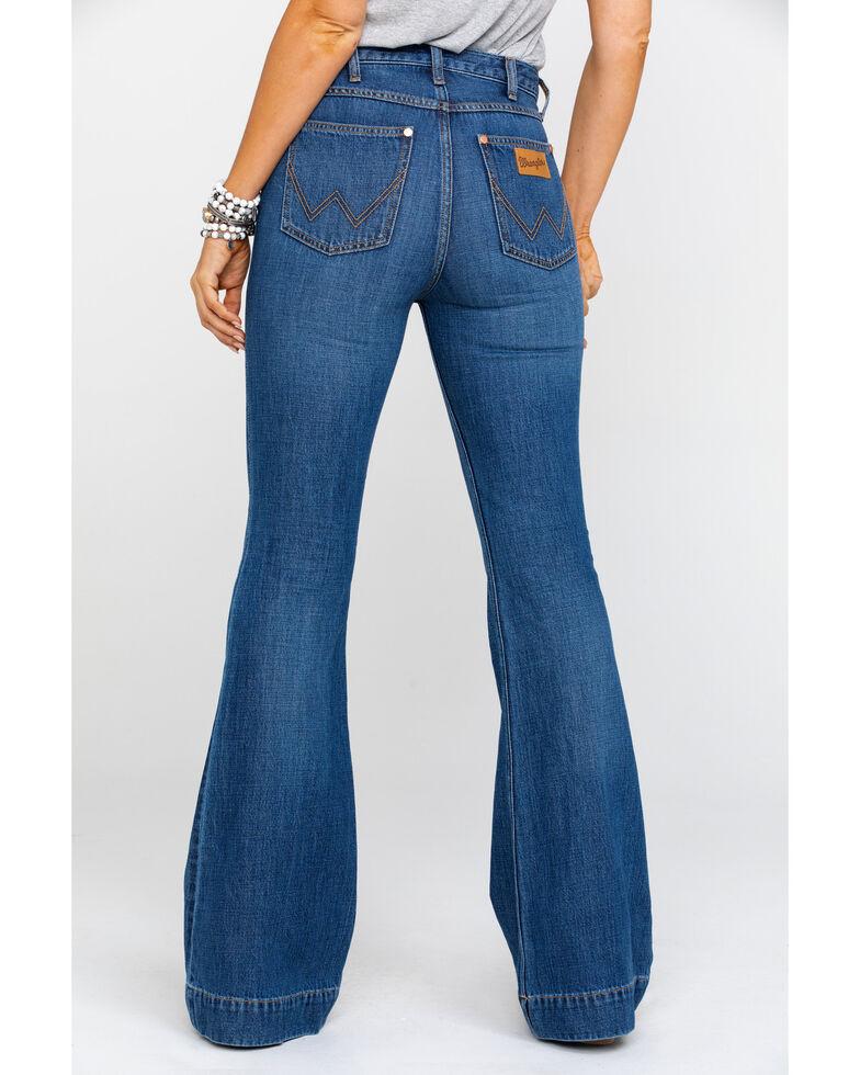 Wrangler Modern Women's Midtown High Rise Med Trouser Jeans , Blue, hi-res