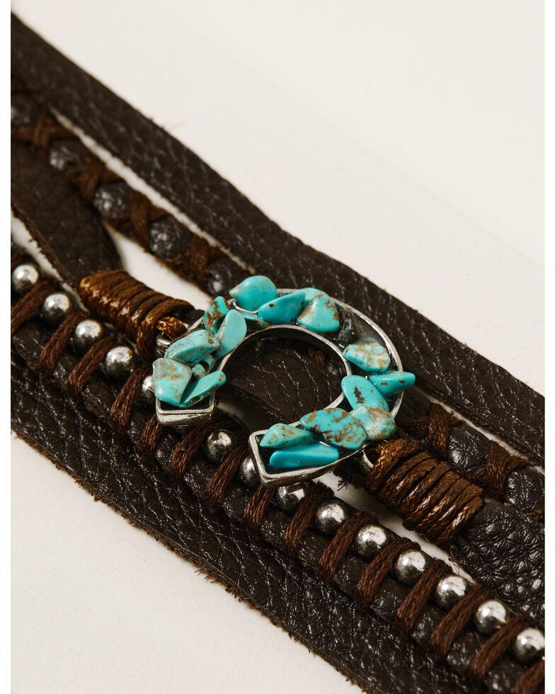Idyllwind Women's Wrap Me Up Leather Bracelet, Brown, hi-res