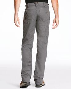 Ariat Men's Rebar M4 Stretch Canvas Utility Straight Leg Pants - Big, Light Grey, hi-res